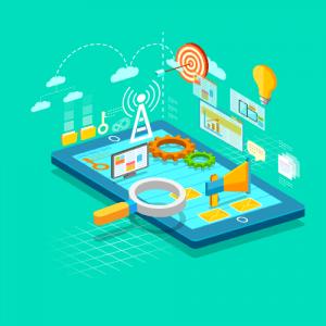 טאבלט נכסים דיגיטליים ונגישות באינטרנט